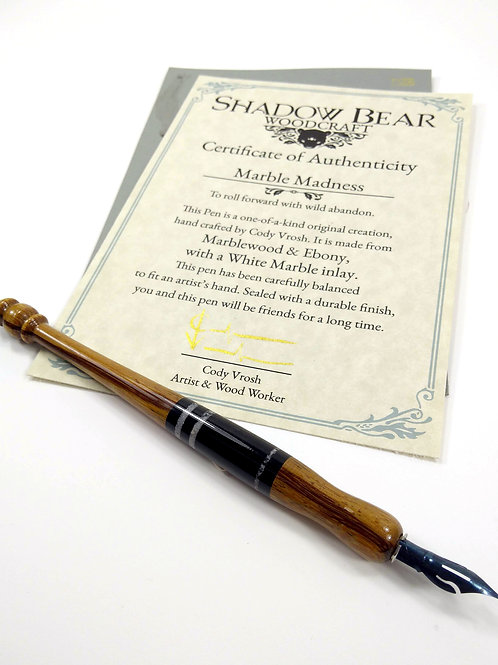 The Marble Madness Pen