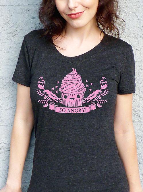 So Angry Cupcake Women's T-shirt