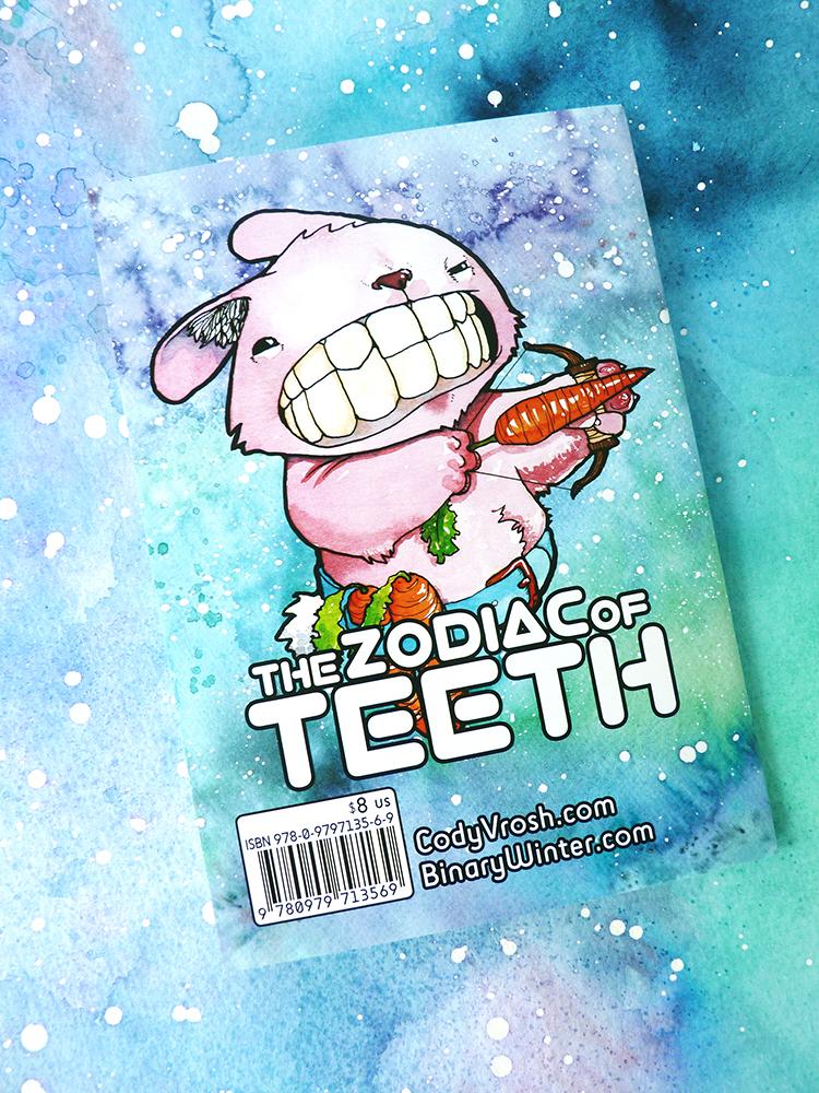 Zodiac of Teeth Back Cover