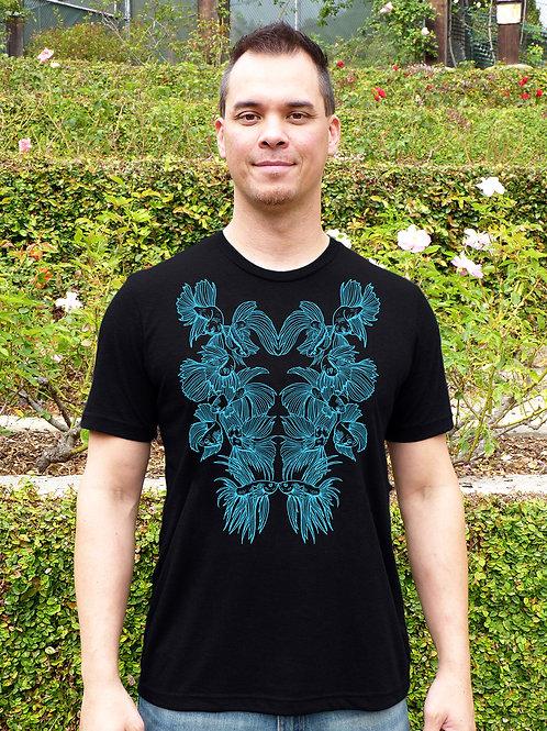 Lover & Fighter Betta Fish T-shirt