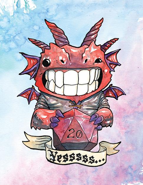 Cody Vrosh Teeth Creatures High Roller Dragon