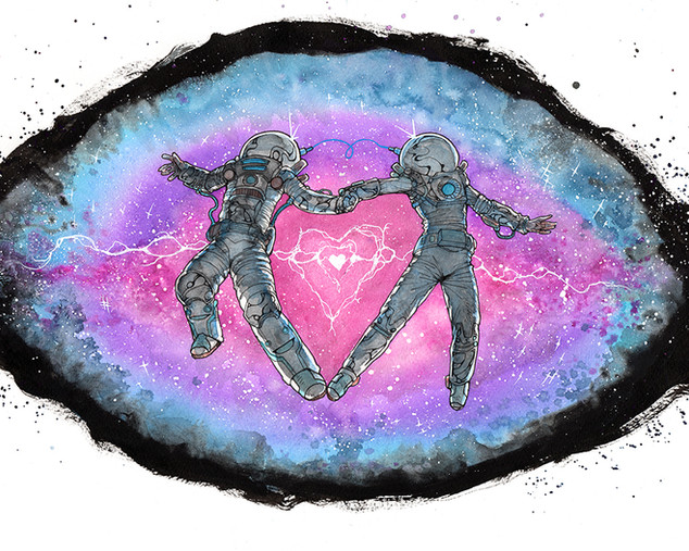 Cody Vrosh Art Love SuperNova