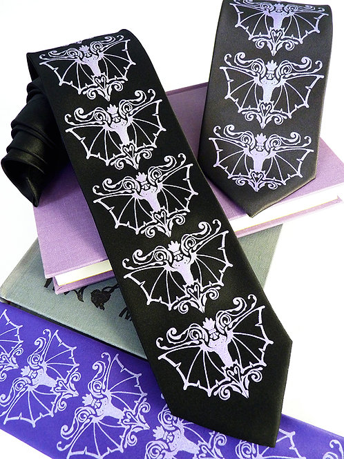 Bat Fancy Necktie