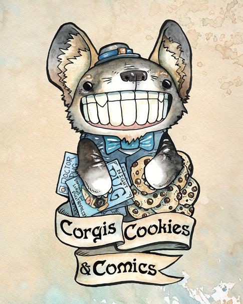 Cody Vrosh Teeth Creatures Corgis Cookies Comics