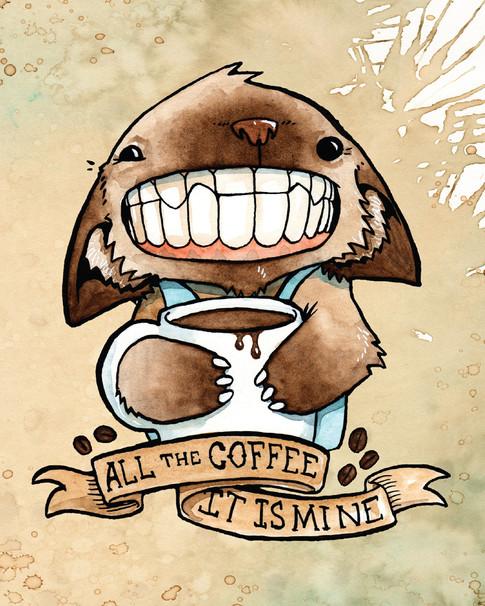 Cody Vrosh Teeth Creatures Coffee Cat