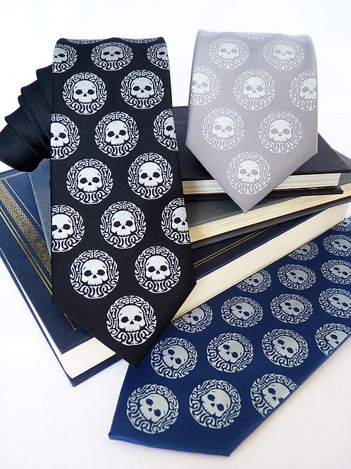 Dapper Skullduggery Necktie
