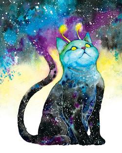 Cody Vrosh Meowter Space Cats Art