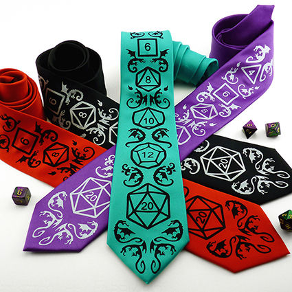Geeky Neckties Binary Winter Press