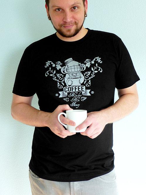 Coffee Makes Me Fancy T-shirt