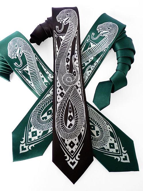 Snake Charmer Necktie