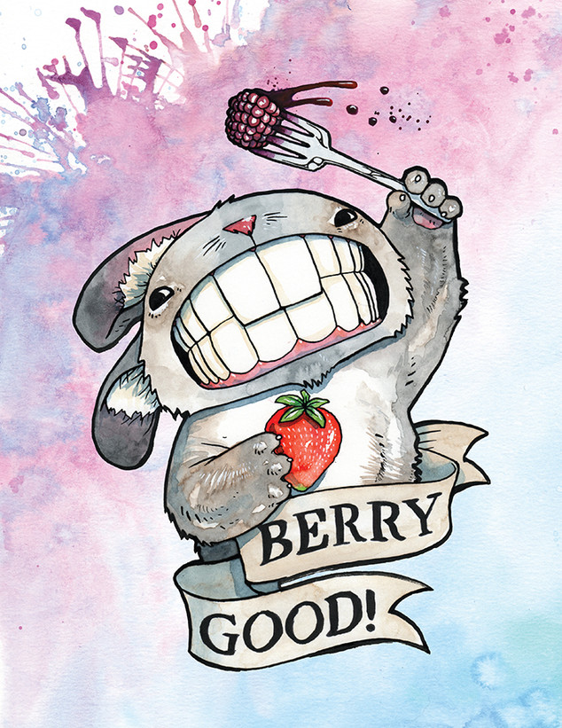 Cody Vrosh Teeth Creatures Berry Good Bunny