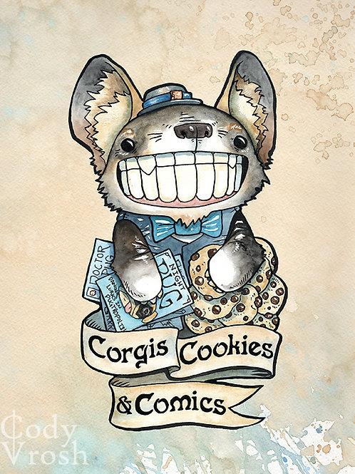 Corgis, Cookies & Comics