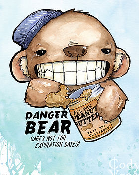 Cody Vrosh Teeth Creatures Danger Bear 6