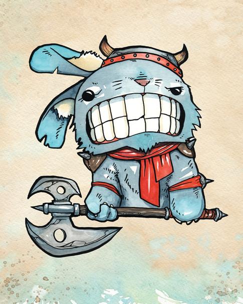 Cody Vrosh Teeth Creatures Bunnbarian