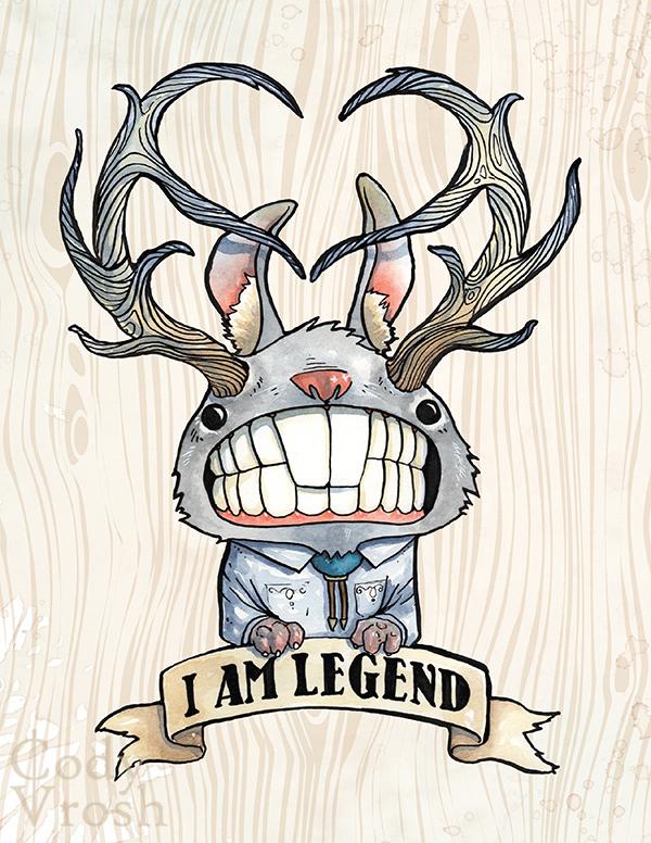 I Am Legend Bunny 600x776