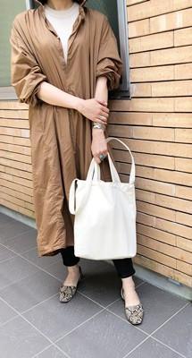 顔タイプ診断フレッシュタイプのコーディネート・シンプルな服が似合う人は?