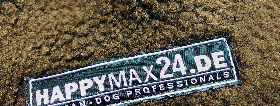 HappyMax24 Hundebett, Thermofaserpelzdeck (Grün)