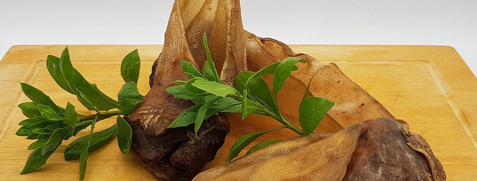 Rinderohr mit Muschel : 70 - 90 g Stück / 3er Gebinde