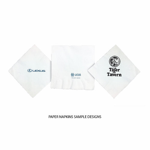 Paper Napkins (Customisable)