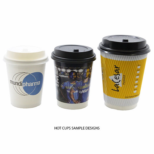 Hot Paper Cups (Customisable)