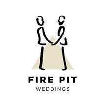 Fire Pit Festival Same Sex Wedding