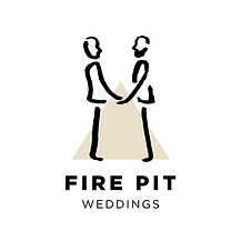 Fire Pit Festival Same Sex Wedding