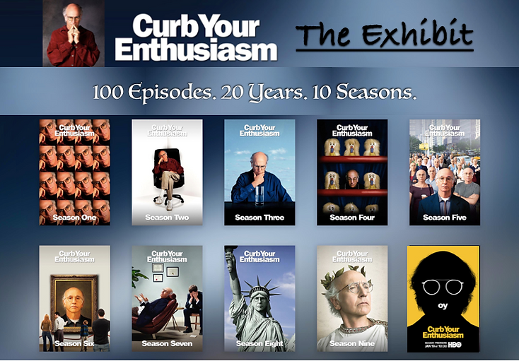 Curb Your Enthusiasm season posters