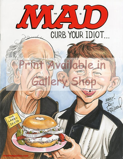 Mad magazine parody