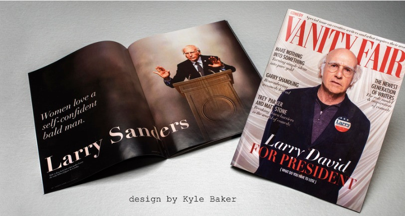 FAKE Vanity Fair Larry David