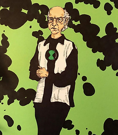 Larry David by Jared Wyrick