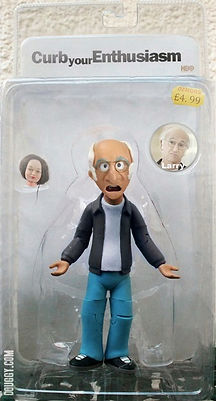 Larry David Action Figure Curb Your Enthusiasm doll