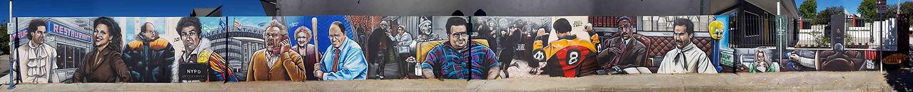 Seinfeld Jerry Stiller Mural in Perth