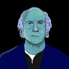 Larry David face