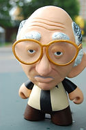 Larry David Munny action figure
