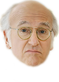 Larry David face