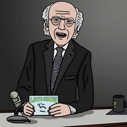 Larry DAVID Letterman