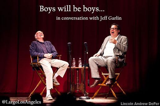 Jeff Garlin Curb Your Enthusiasm Largo Los Angeles Comedy Club