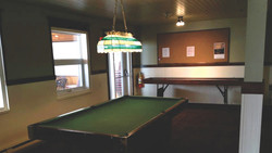 Our Pool Table. Hope You Got Game!