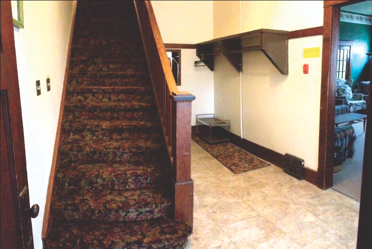 Stairs To 2nd Floor In The Lodge