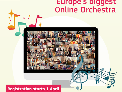 Calling musicians and singers all over Europe