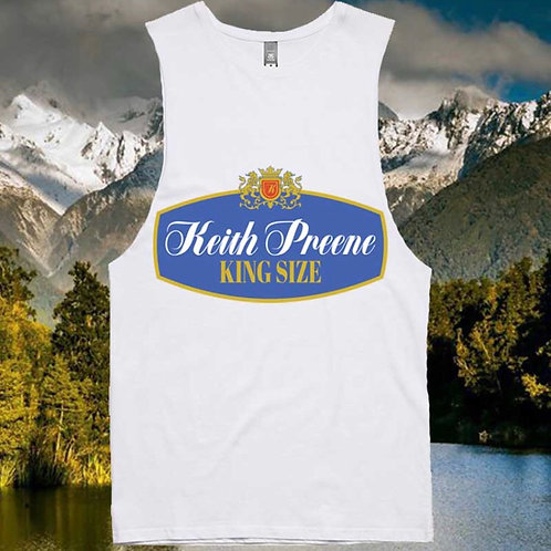 Keith Preene (colab with Rothmans) Singlet
