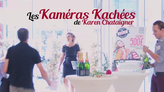 Kaméra Kachée - chez IOU