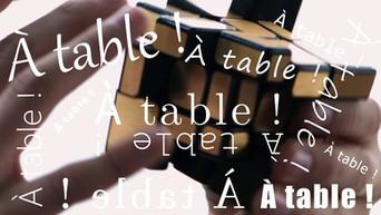 À table ! - la web-série