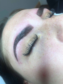 ash henna brows and lashes