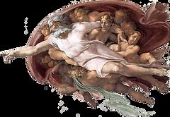 Michelangelo God Father