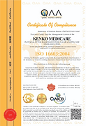 ISO 16603-2004 Certificate