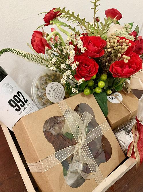 Pa' Picar Flower Gift Box