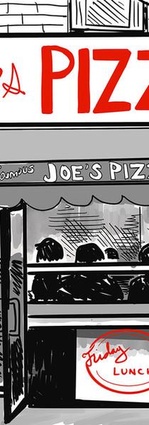 Joe's Pizza - New Yorker Style