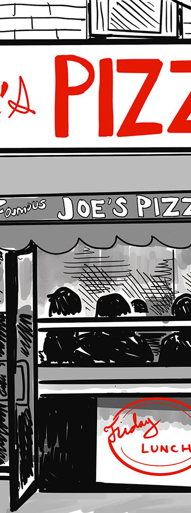 Joe's Pizza - New Yorker Style