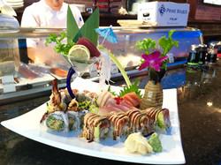 Assorted Sashimi & Rolls